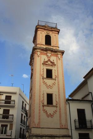 tower of Santo Domingo church in Cordoba Spain