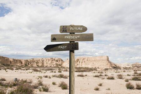 Wüstenlandschaft in einer trockenen Erde in Spanien