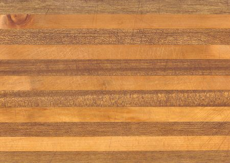 cutting boards: Butcher block detail with scratches and knife marks
