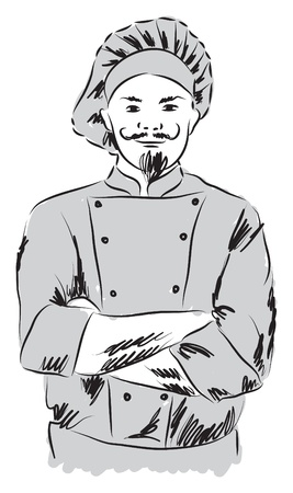 chef illustration Vector