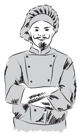 chef illustration Illustration