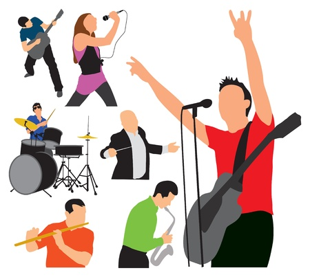 ARTISTIC EXPRESSIONS music illustration