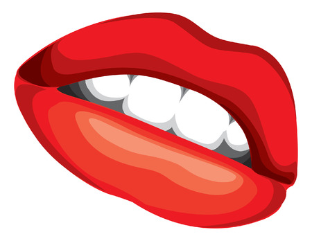 LIPS ILLUSTRATION Vector