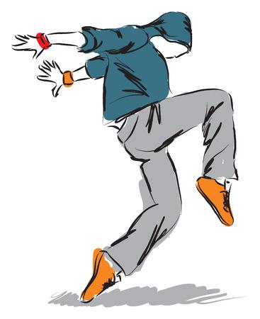 hip-hop danser dansen afbeelding 3
