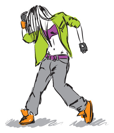 Hip-hop Banque d'images - 27631488