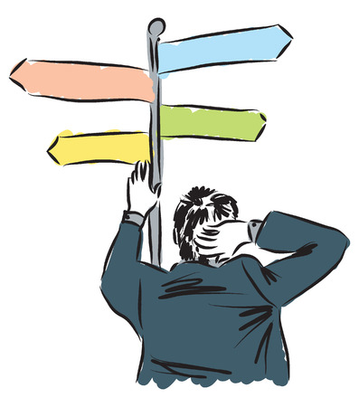 business man illustration