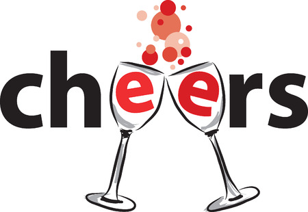 cheers: cheers illustration