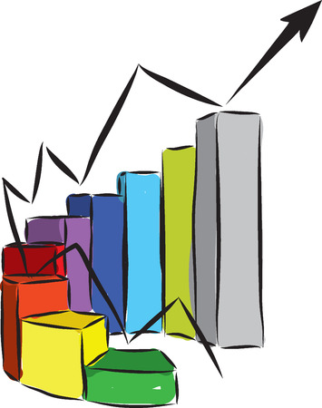 figures: progress business illustratio