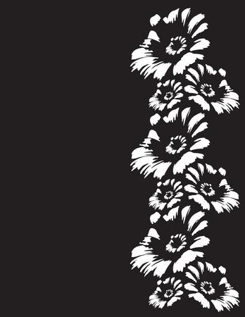 Illustration de fleurs Banque d'images - 49616168