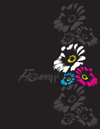 art vector: flowers illustration