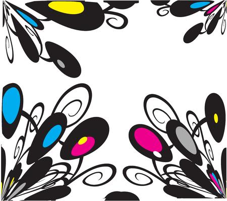 marbles texture 4 illustration Illustration