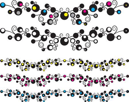 marbles texture illustration