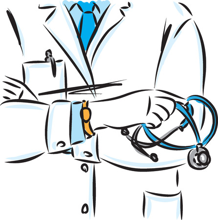 doctor concept vector illustration 일러스트
