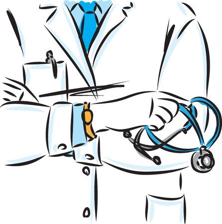 doctor concept vector illustration Illustration
