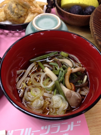 soba noodles: Soba noodles Japanese style. Stock Photo