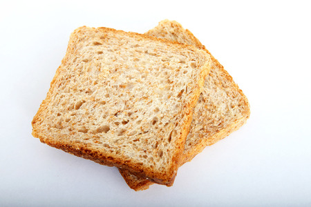 carbohydrates: bread slice