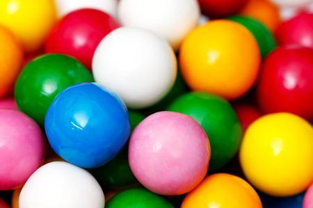 gumballs: Bubble gum chewing gum texture