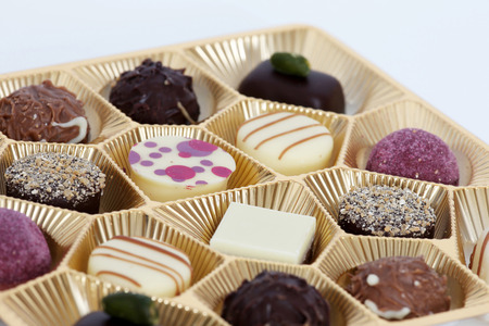 Assortment of Chocolate Stock Photo