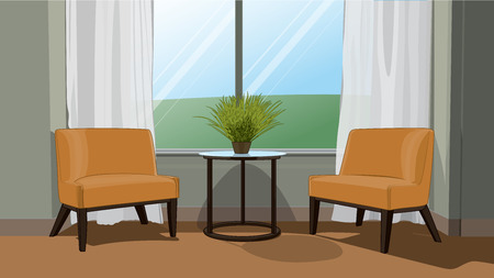 Living room Çizim