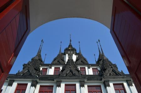 Metallic Castle Stock Photo