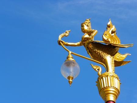 Golden Lamp Stock Photo - 13083289