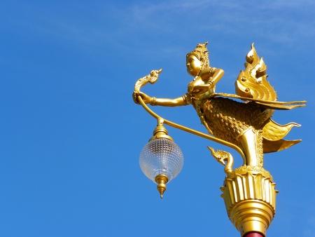 Golden Lamp Stock Photo - 13083289