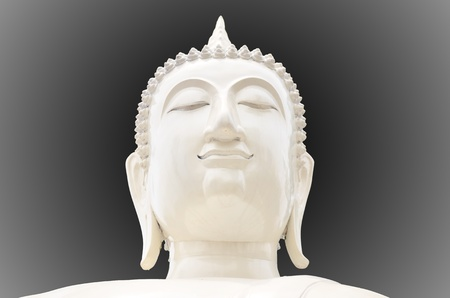 White Buddha photo
