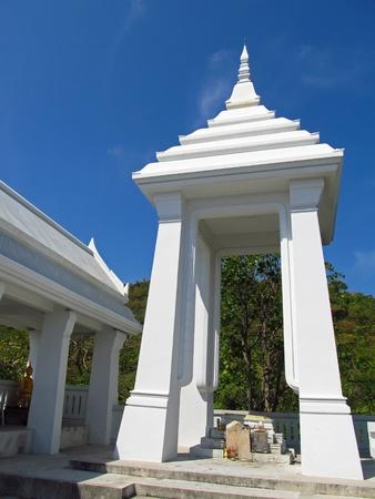 White Temple on the mountain