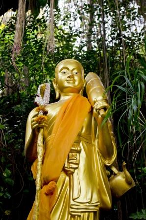 Goldeb Buddha Stock Photo