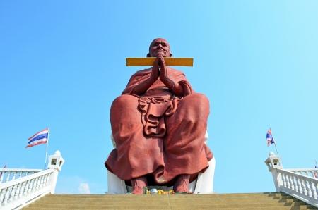 klerus: Klerus riesige Statue in Thailand