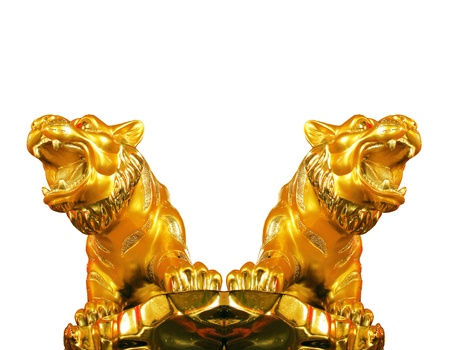 sculp: Golden Lion