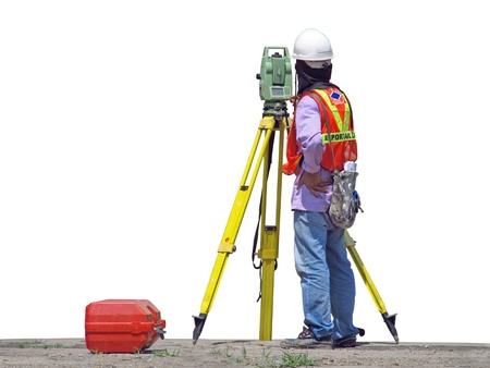 A surveyor photo