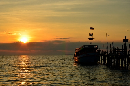 koh samet: Moring Light in Koh Samet, Thailandnd
