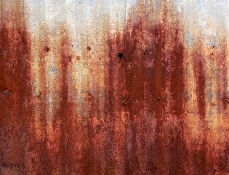 rusty corrugated iron metal photo