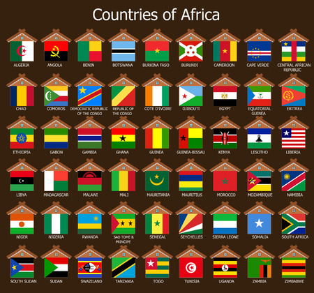 Countires of Africa photo