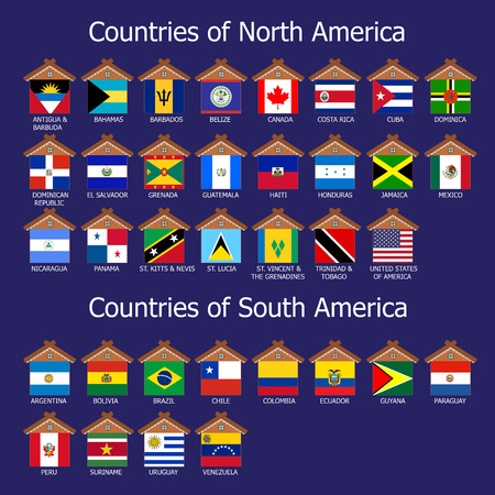Countries of America photo