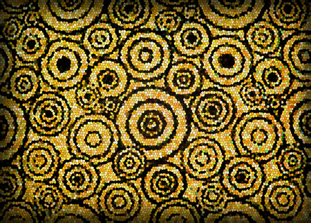 Mosaic circular patterns photo