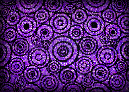Mosaic circular patterns photo