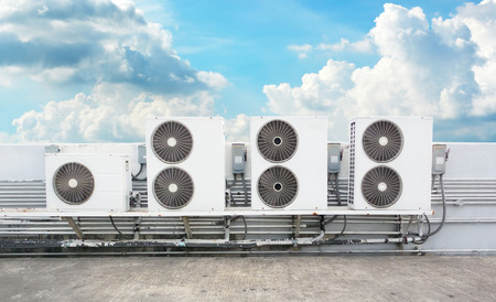 compressor van de airconditioning