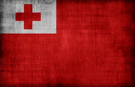 Tonga flag pattern,retro vintage style Stock Photo