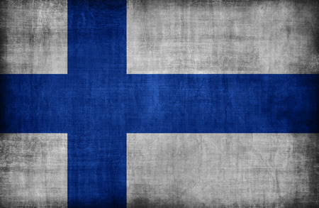 finland flag: Finland flag pattern  ,retro vintage style
