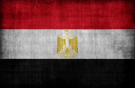 bandera de egipto: Patrón de la bandera de Egipto, el estilo retro de la vendimia