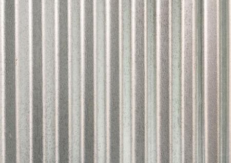 silver plated: Zinc galvanized metal texture Stock Photo