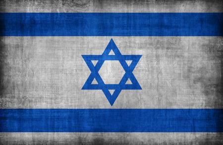 israel flag: Israel flag pattern ,retro vintage style