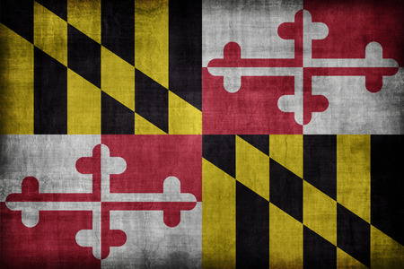 maryland flag: Maryland flag pattern, retro vintage style
