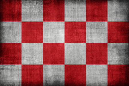 north brabant: North Brabant flag pattern , retro vintage style