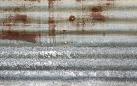 zinc: old zinc Stock Photo