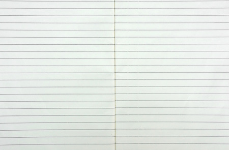 college ruled: white lined sheet of notepad paper