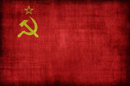 ソビエト連邦の旗パターン、レトロなビンテージ スタイル