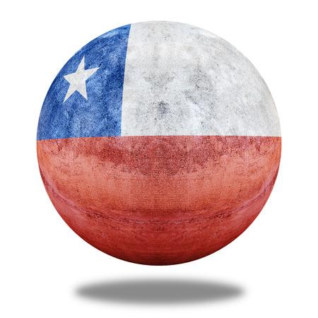 flag of chile: patr�n de la bandera de Chile el c�rculo de piedra shape textura